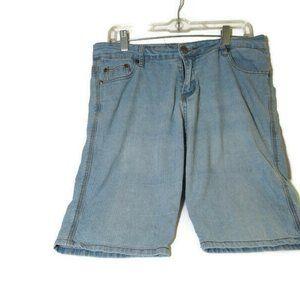 Dirt Shorts Womens Blue Denim Size 11